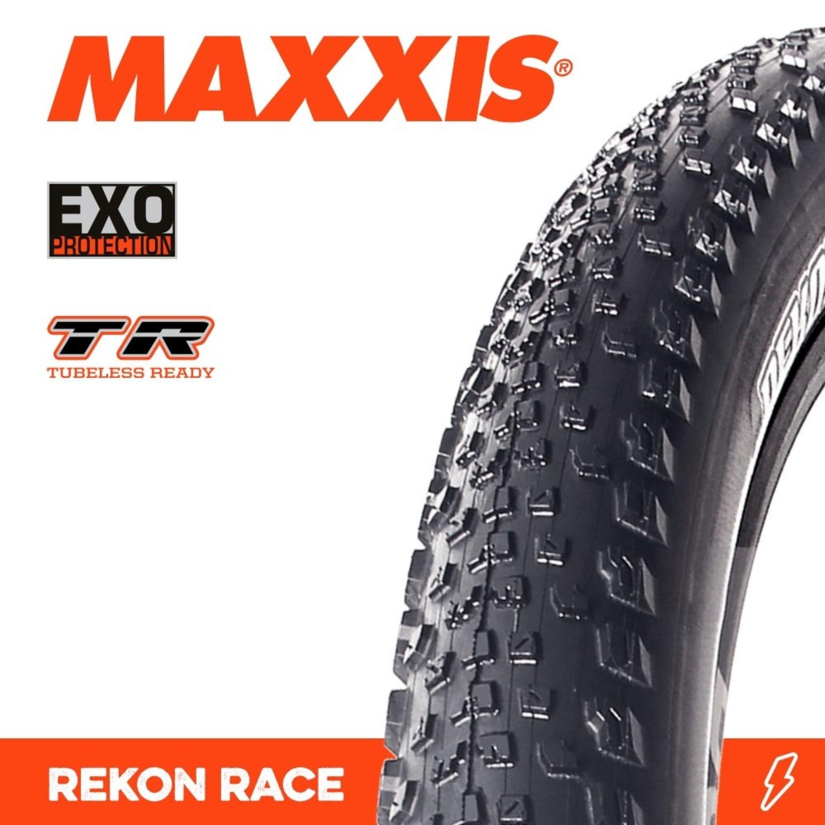 Maxxis Maxxis, Tyre Rekon Race 29x2.25 EXO TR 120TPI Black