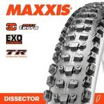 Maxxis Maxxis, Tyre Dissector 27.5x2.40WT 3C Terra EXO TR 60TPI Black