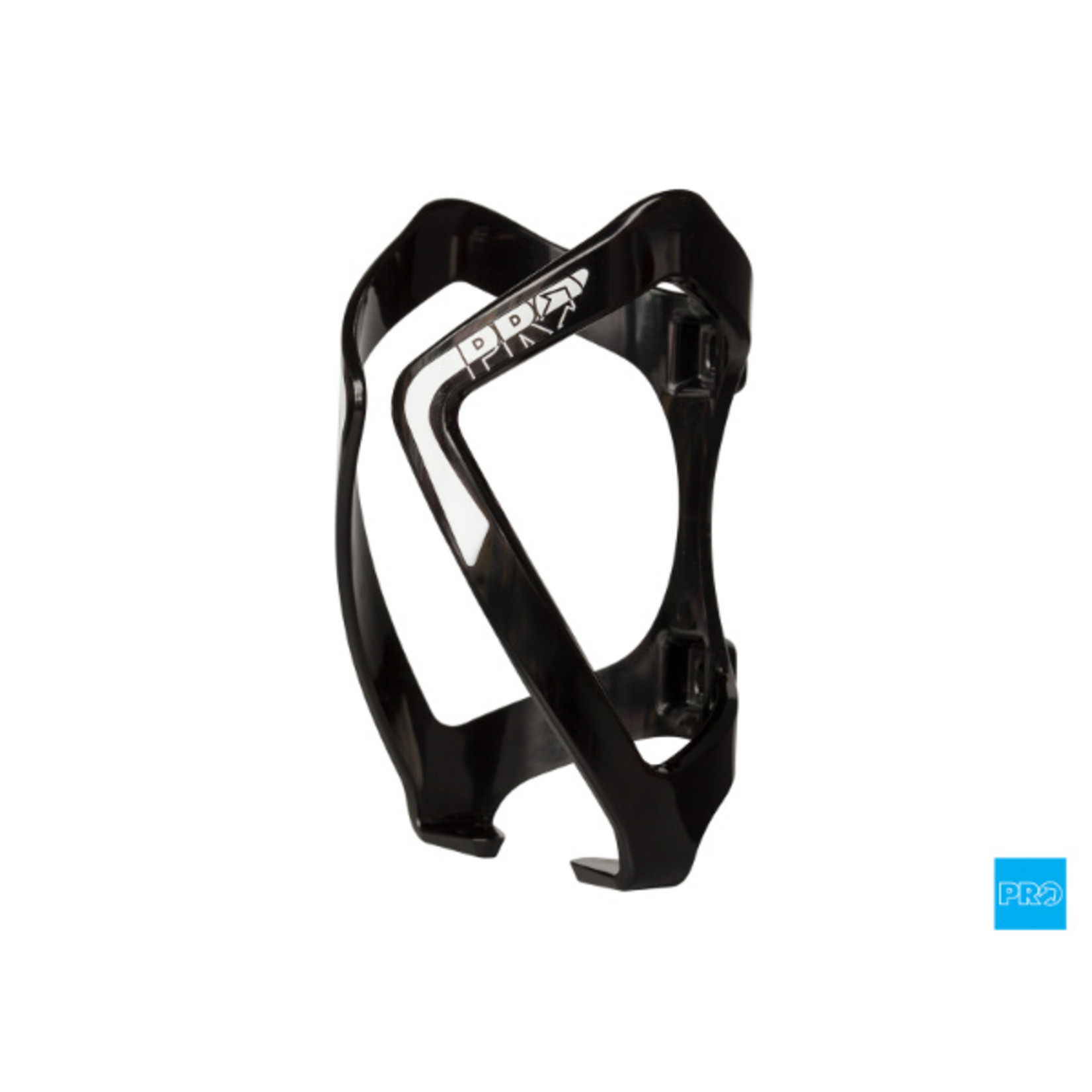 Pro Components Pro, Bottle Cage Polycarbonate Black/White