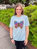 Kademi Butterfly T-Shirt
