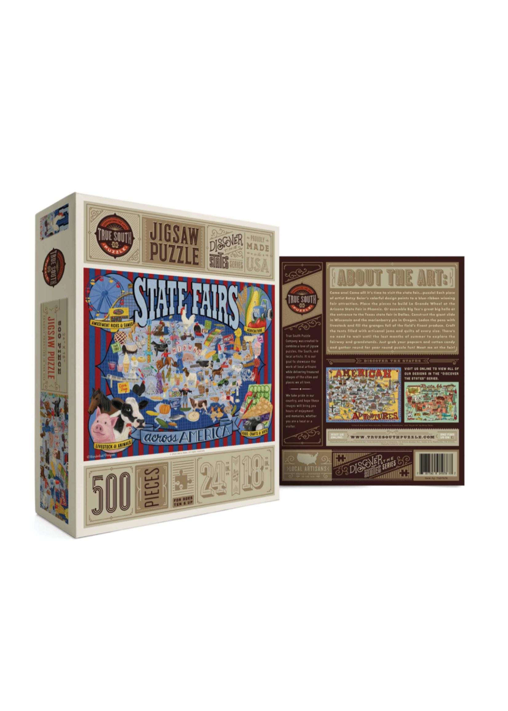 True South Puzzle State Fairs Puzzle