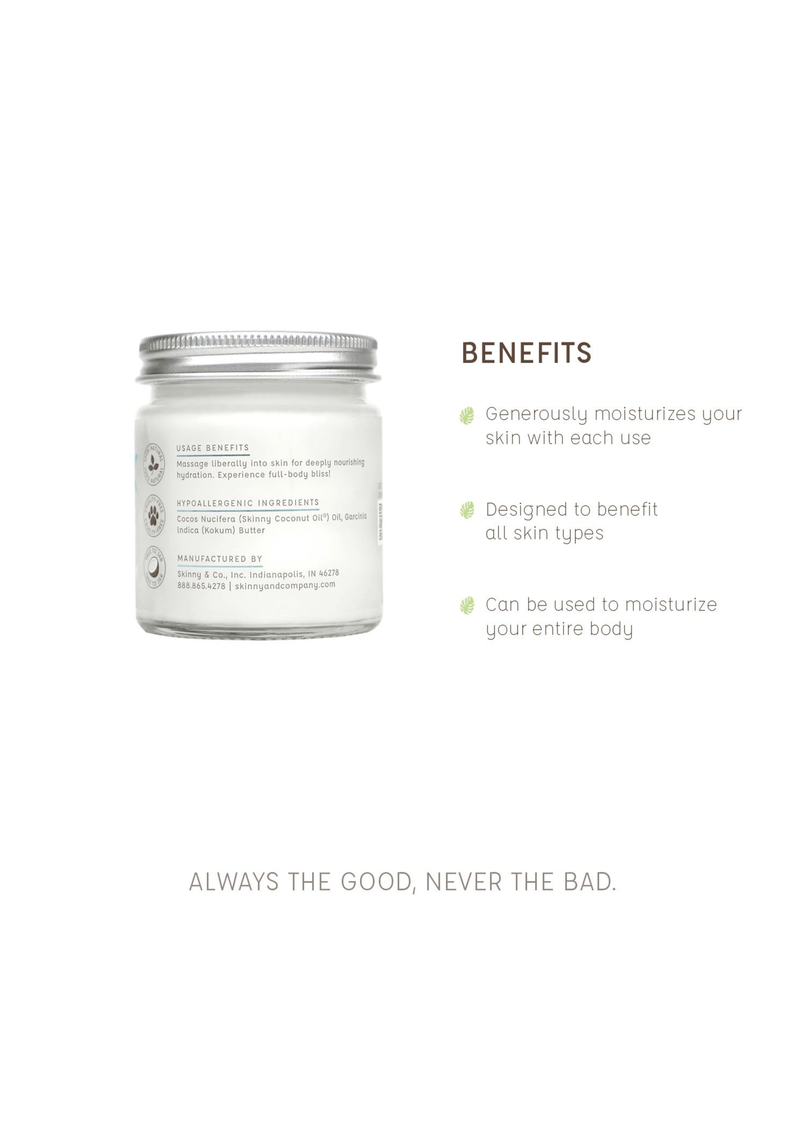 The Skinny Essential Body Butter