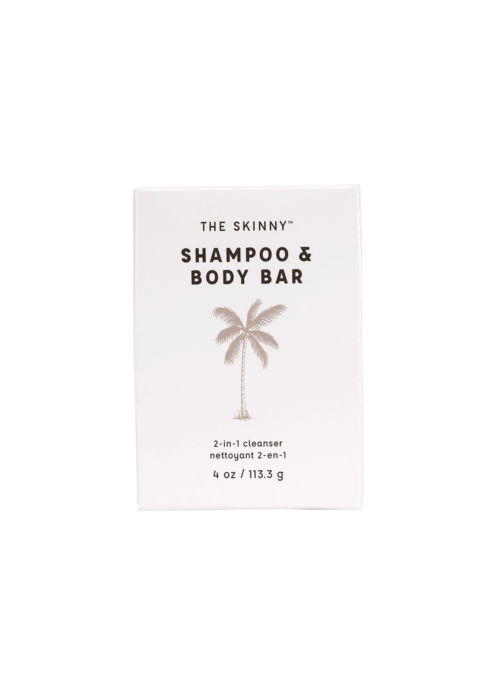 The Skinny Shampoo & Body Bar