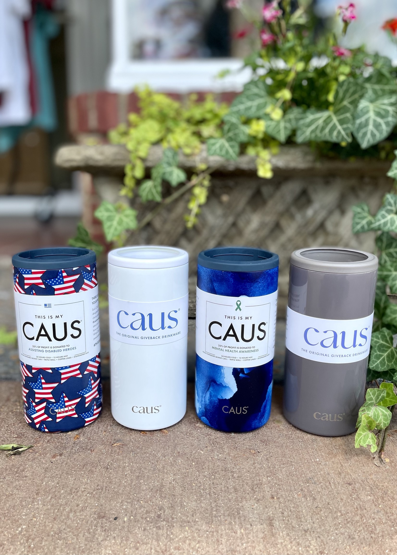 Caus Skinny Can Cooler