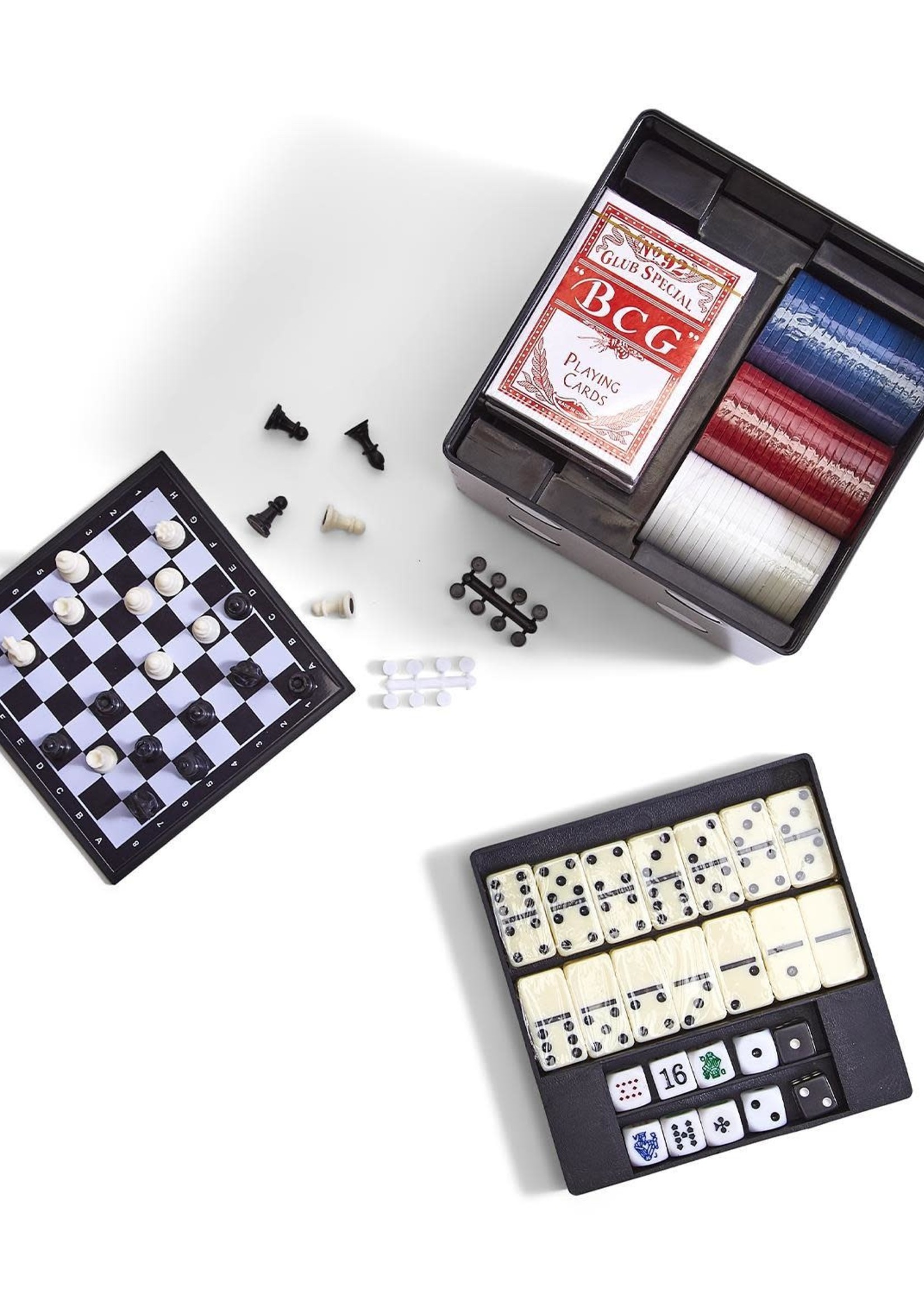 Two's Company, Inc. 6-in-1 Game Dice Cube