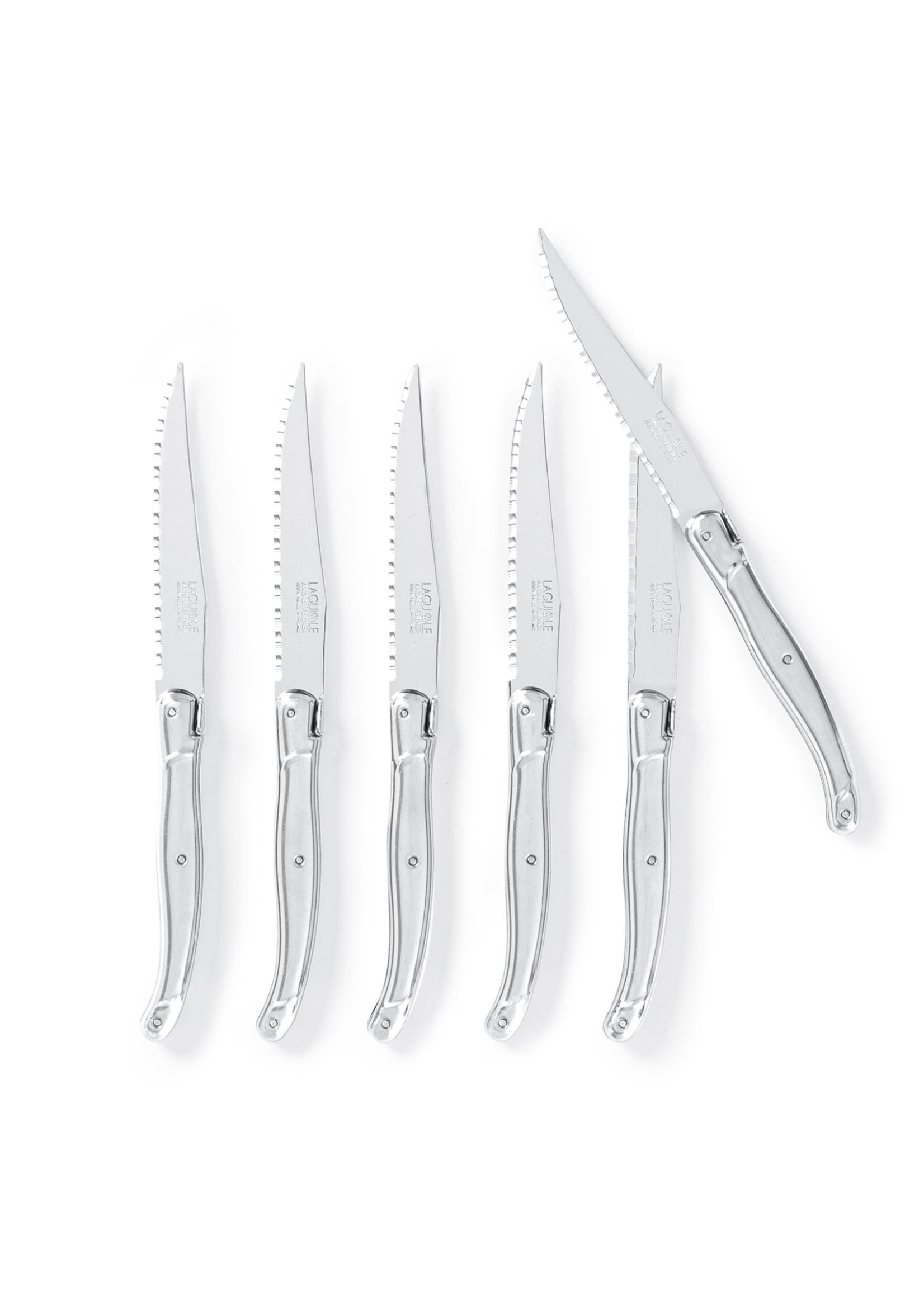 Laguiole Laguiole Steak Knives With Block
