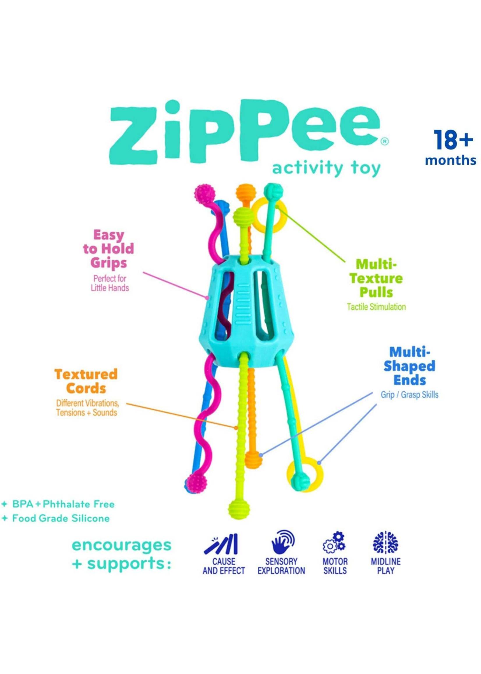 Mobi Games Zippee Activity Toy