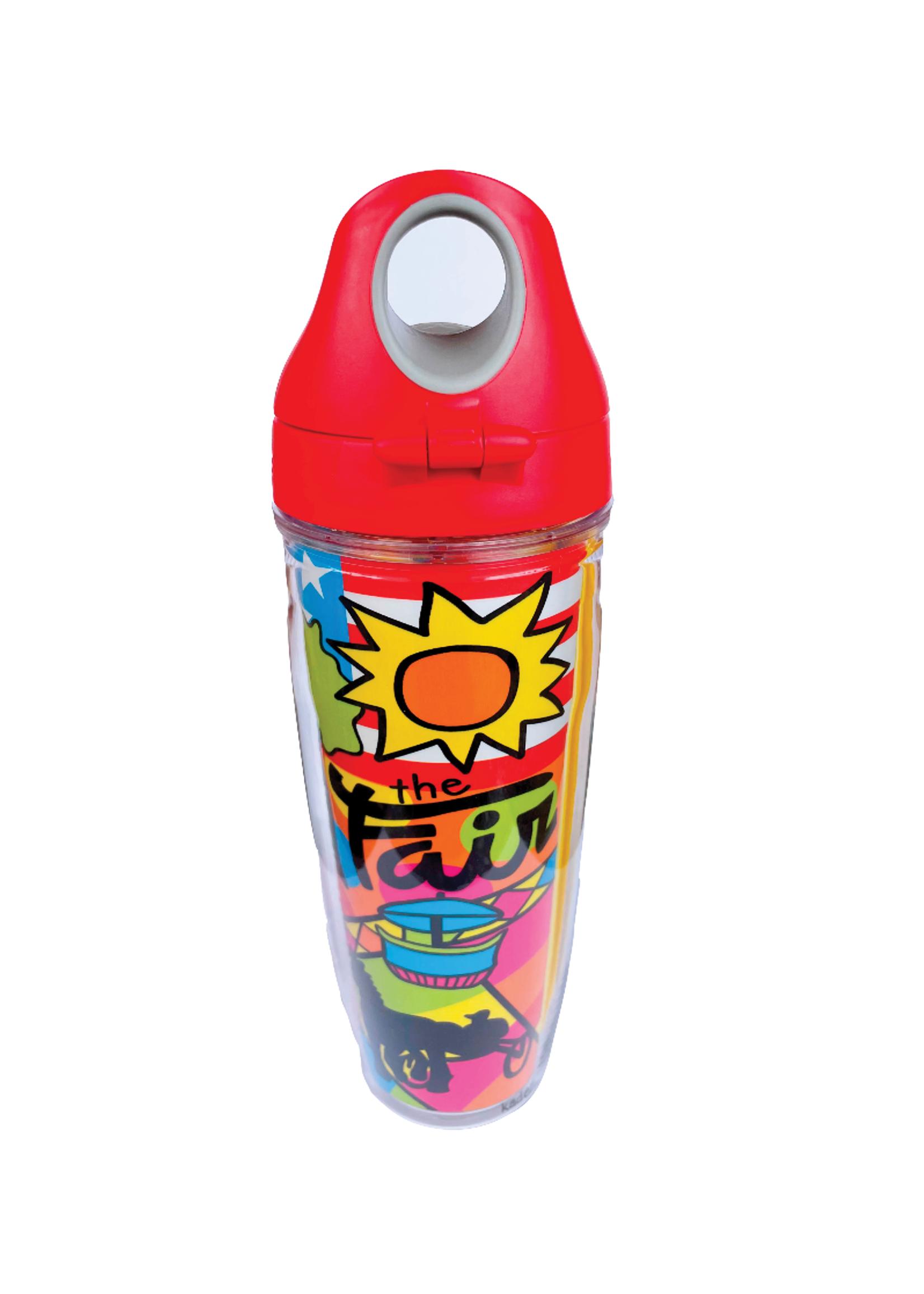Tervis Tumblers Fair Wrap Water Bottle, 24oz