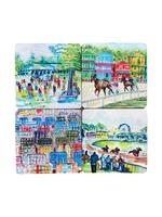 Kademi Coaster Set/4, 4 ASSORT