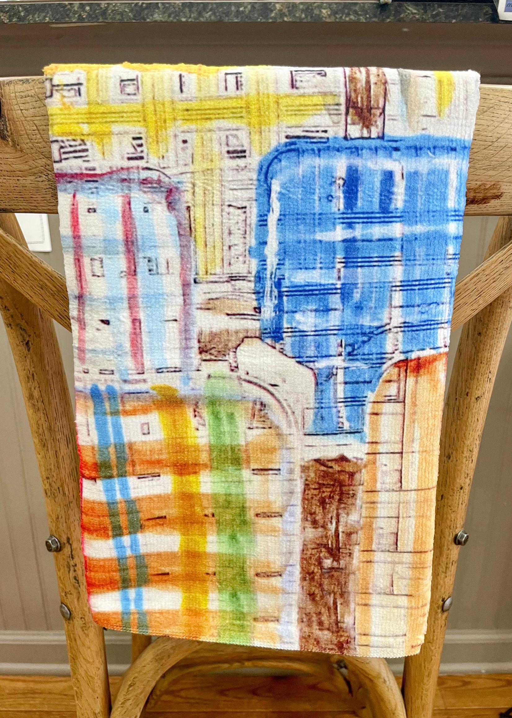 Kademi Kitchen Tea Towel, 16x25