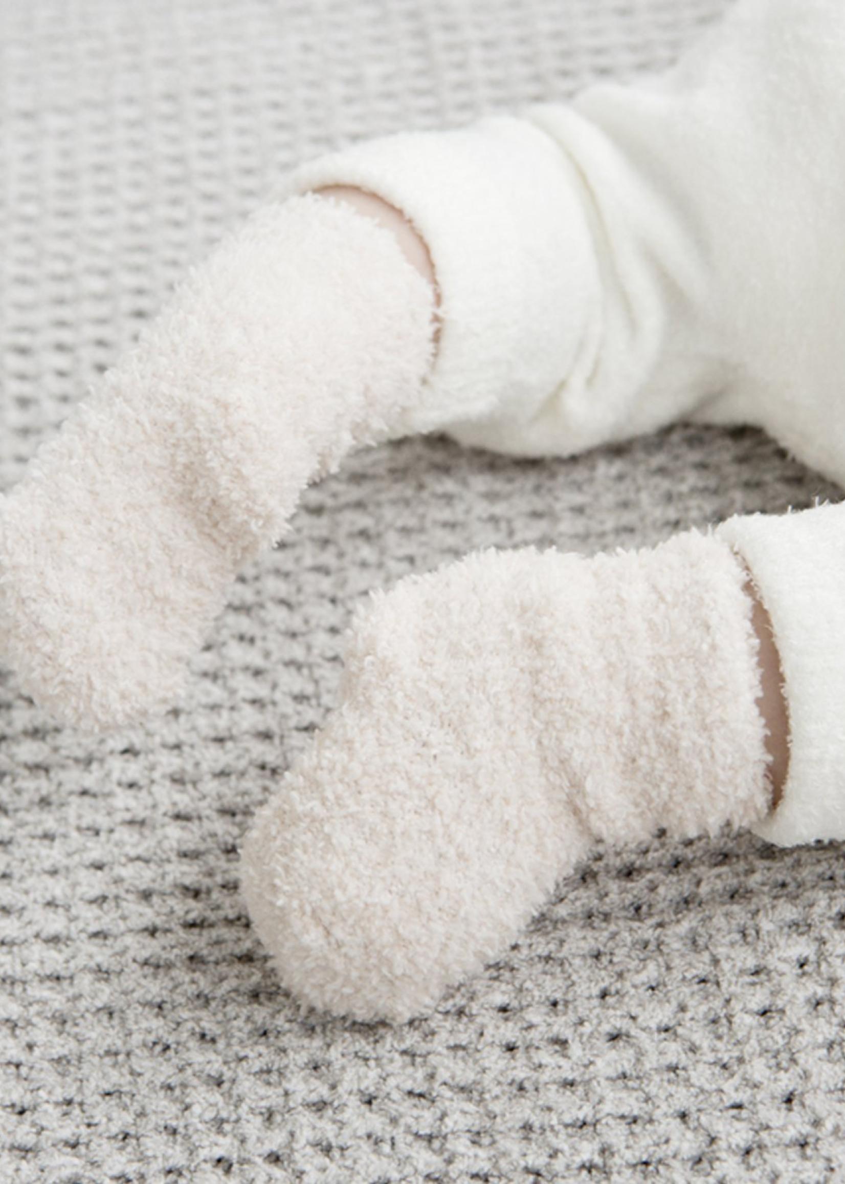 Barefoot Dreams CCL Infant Socks, Pink, 3 pack