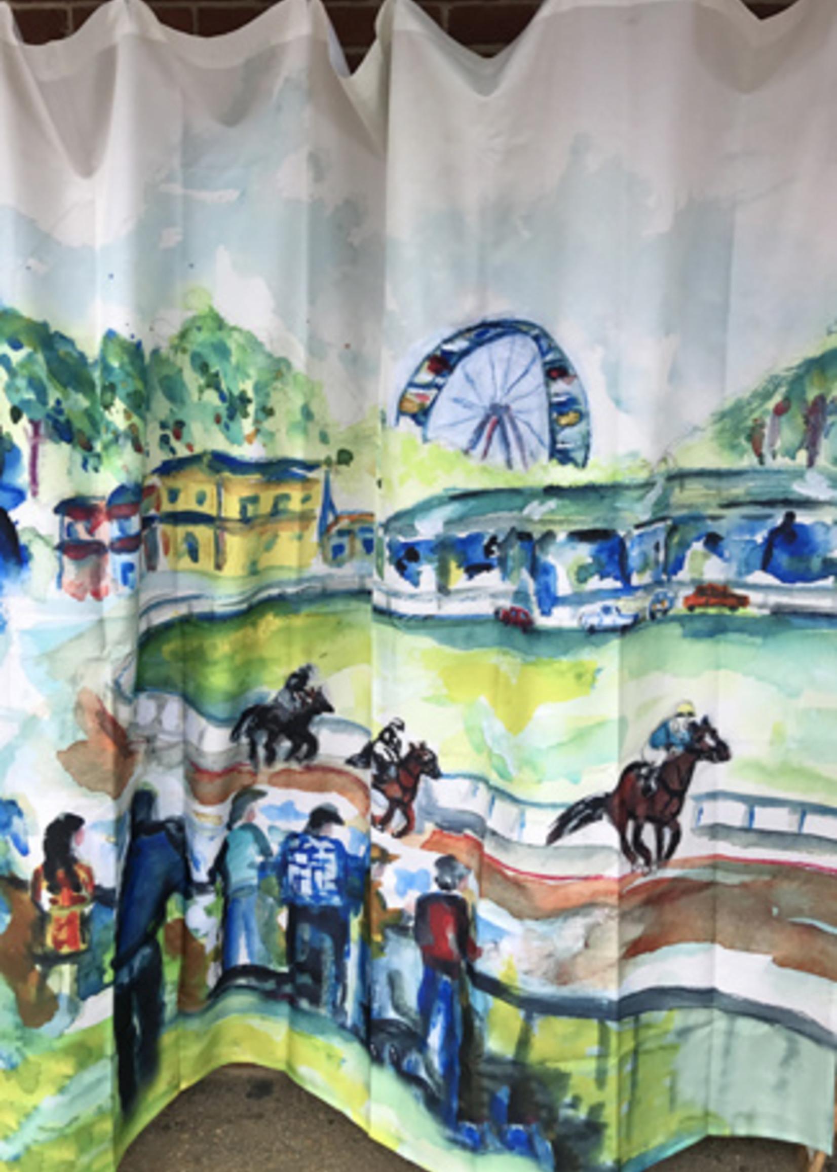 Kademi Shower Curtain