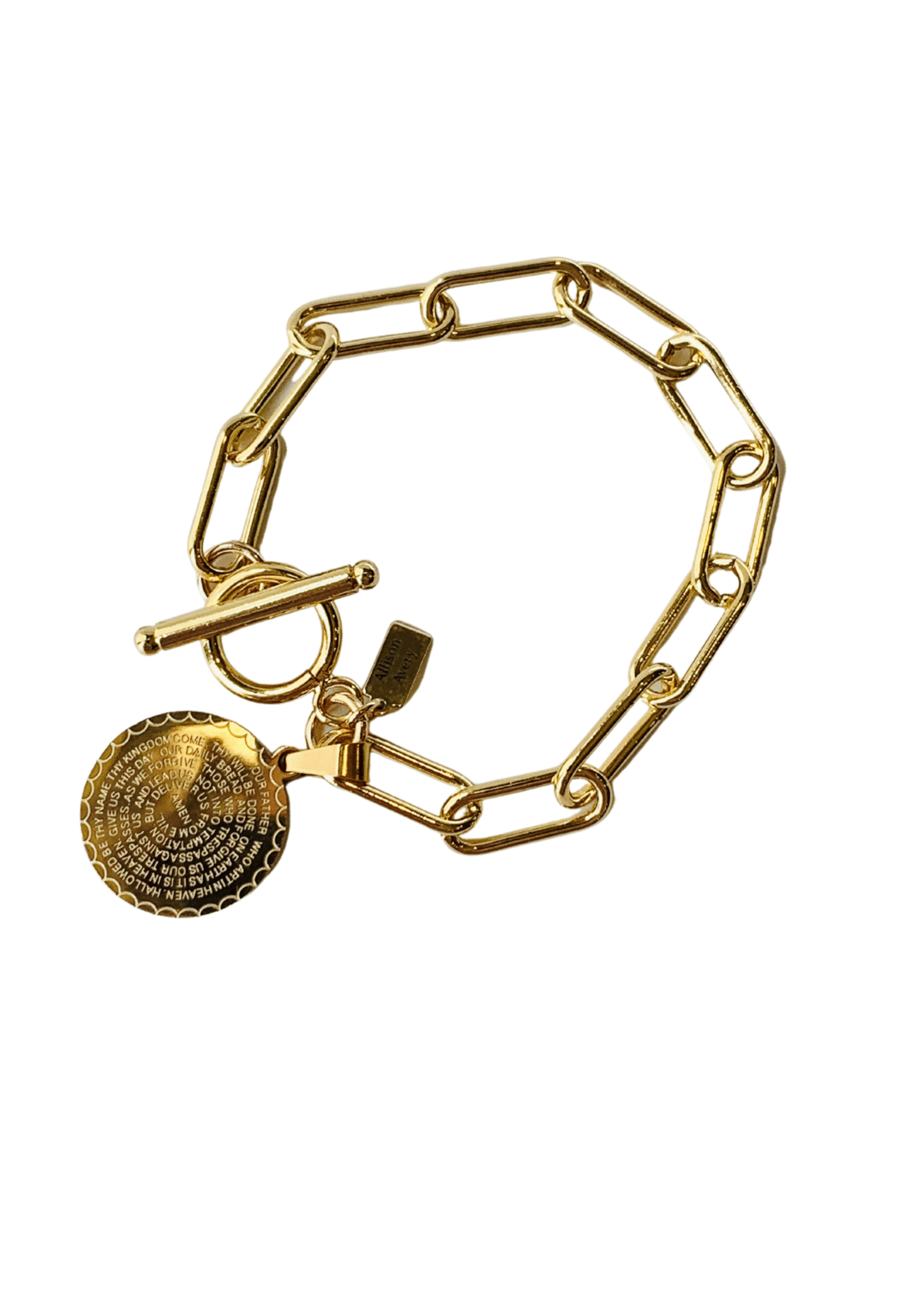 Allison Avery Lord's Prayer Bracelet