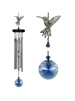 Woodstock Chimes Crystal Chime, Hummingbird