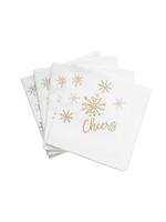 Tag True Living Cheers Cocktail Napkin Set 4