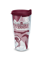 Tervis Tumblers Mississippi State Bulldogs 2021 College World Series Champions Wrap With Travel Lid