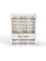 Two's Company, Inc. Good Vibes Only Cowrie Shell Bracelet