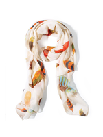 Two's Company, Inc. Falling Feathers Scarf