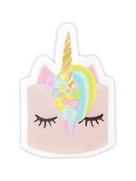 Slant Unicorn Shaped Jumbo Party Napkin