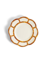 Two's Company, Inc. Bamboo Touch Accent Plate