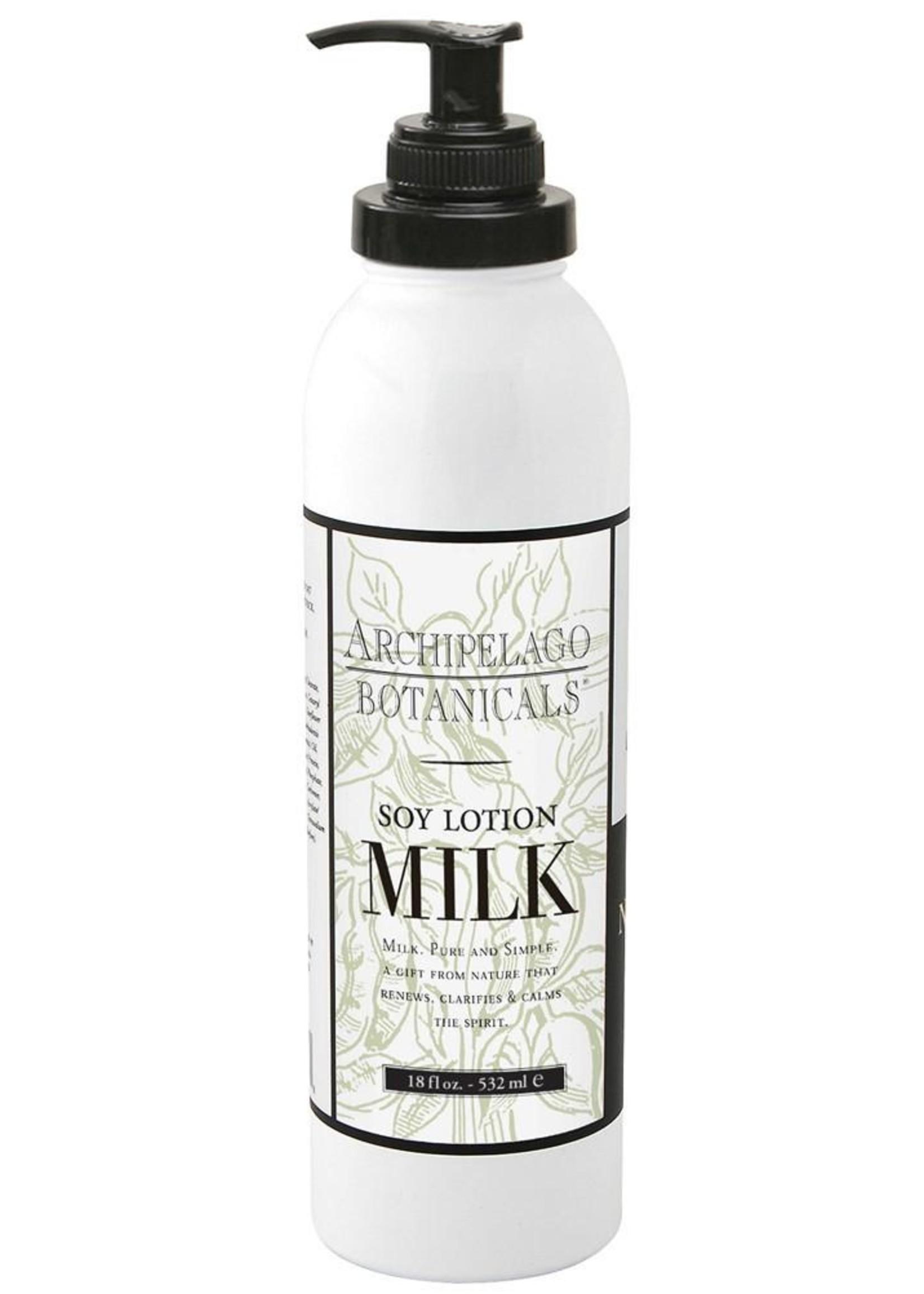 Archipelago Soy Milk Body Lotion, 18oz