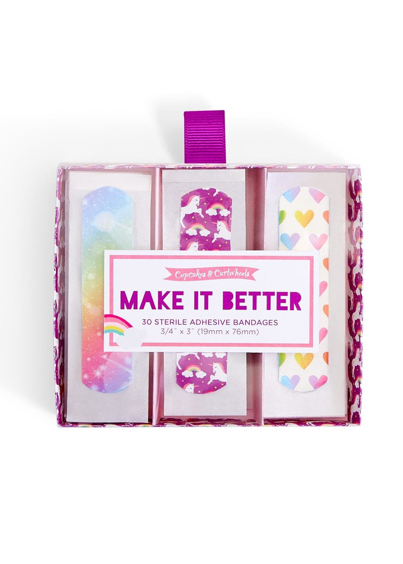 Two's Company, Inc. Make It Better Bandages in Gift Box