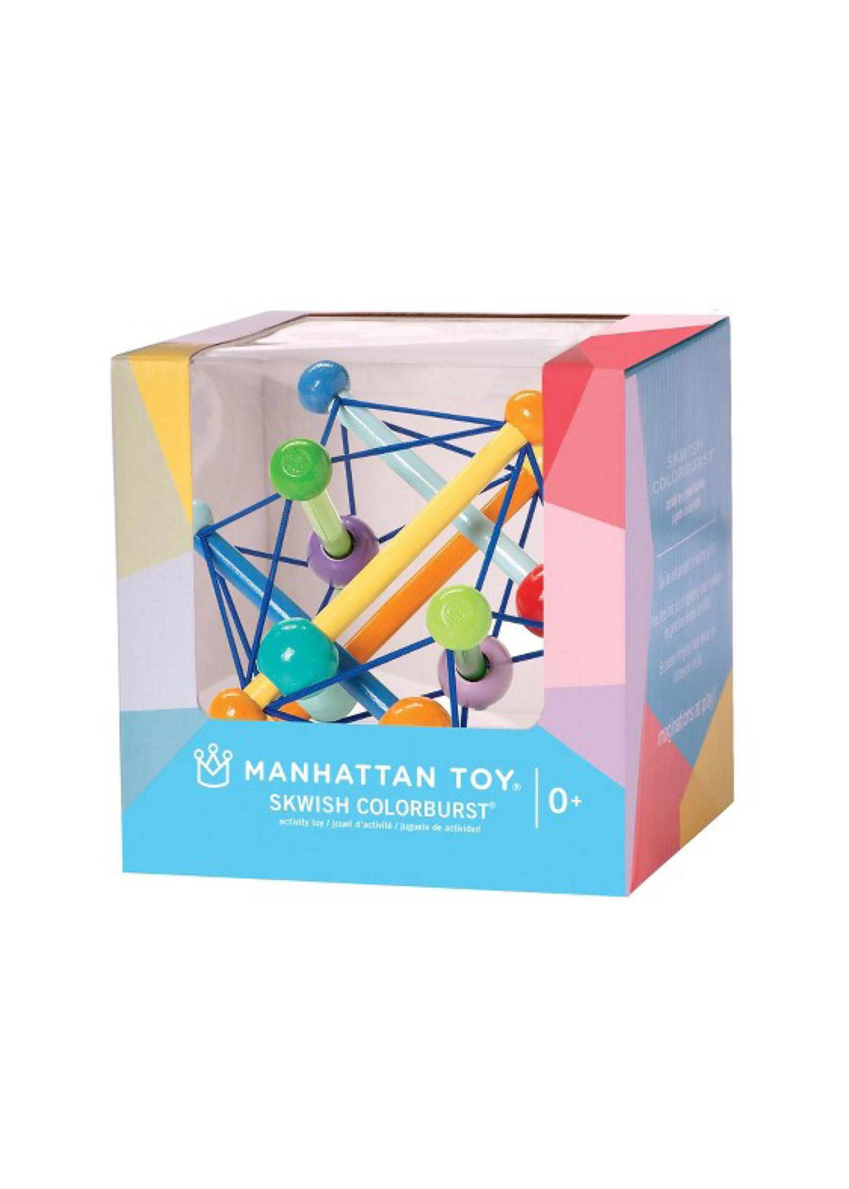 Manhattan Toy Skwish Color Burst Boxed