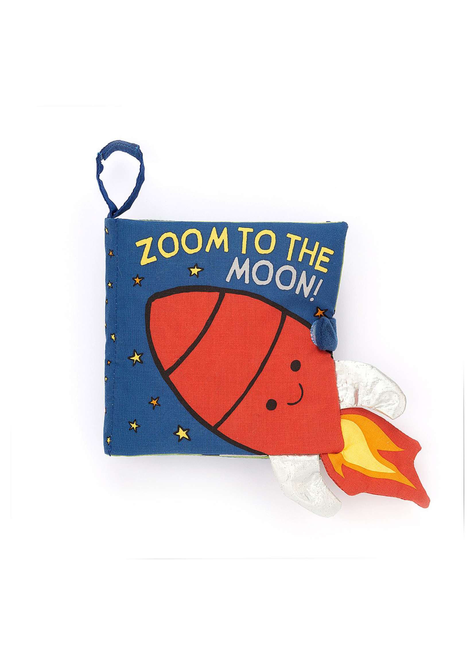 Jellycat Zoom to the Moon Book