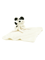 Jellycat Bashful Black & Cream Puppy Soother