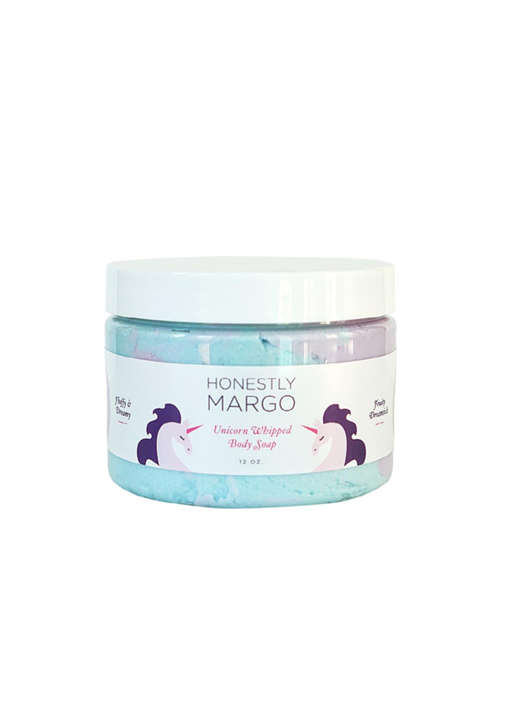 Honestly Margo Unicorn Fruity Dreamsicle Whipped Body Soap