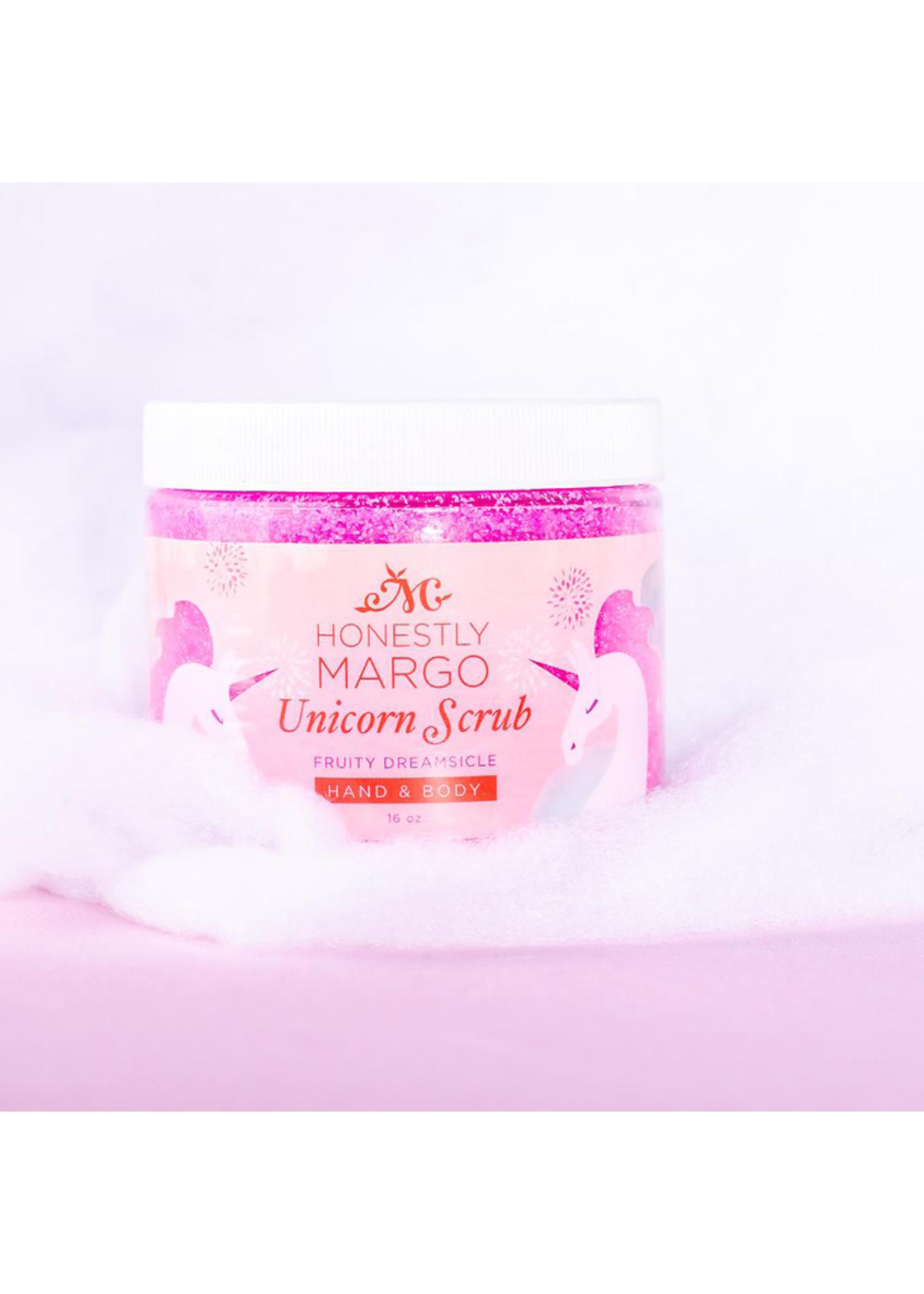 Honestly Margo Unicorn Fruity Dreamsicle Hand & Body Scrub