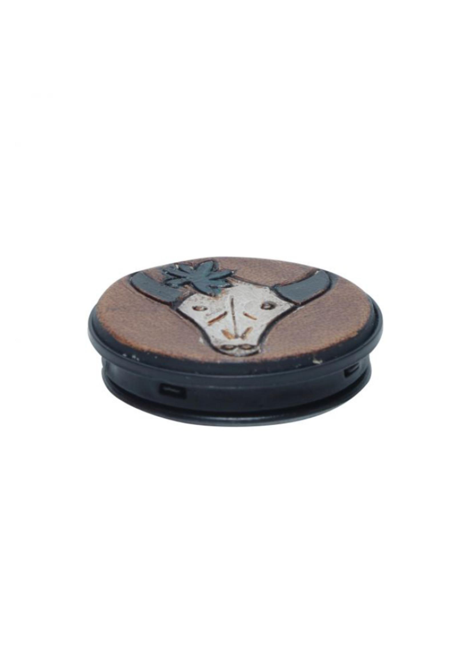 Myra Leather Phone Socket