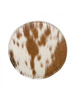 Myra Leather Coasters S/4