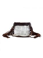 Myra Intricate Clear Bag