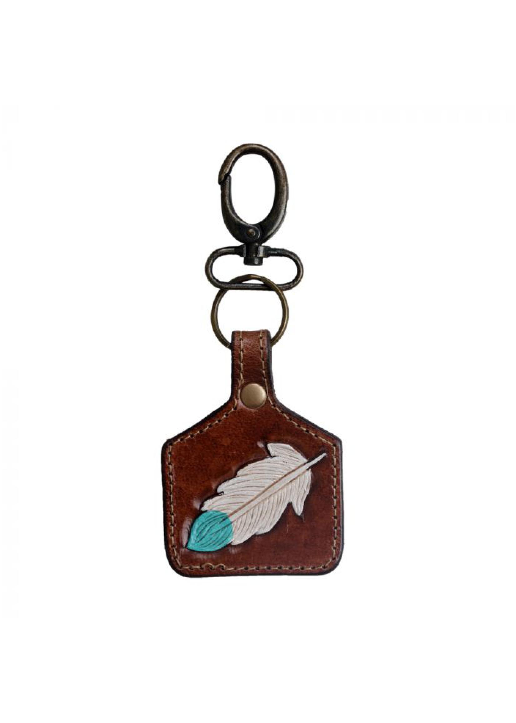 Myra Leather Key Fob