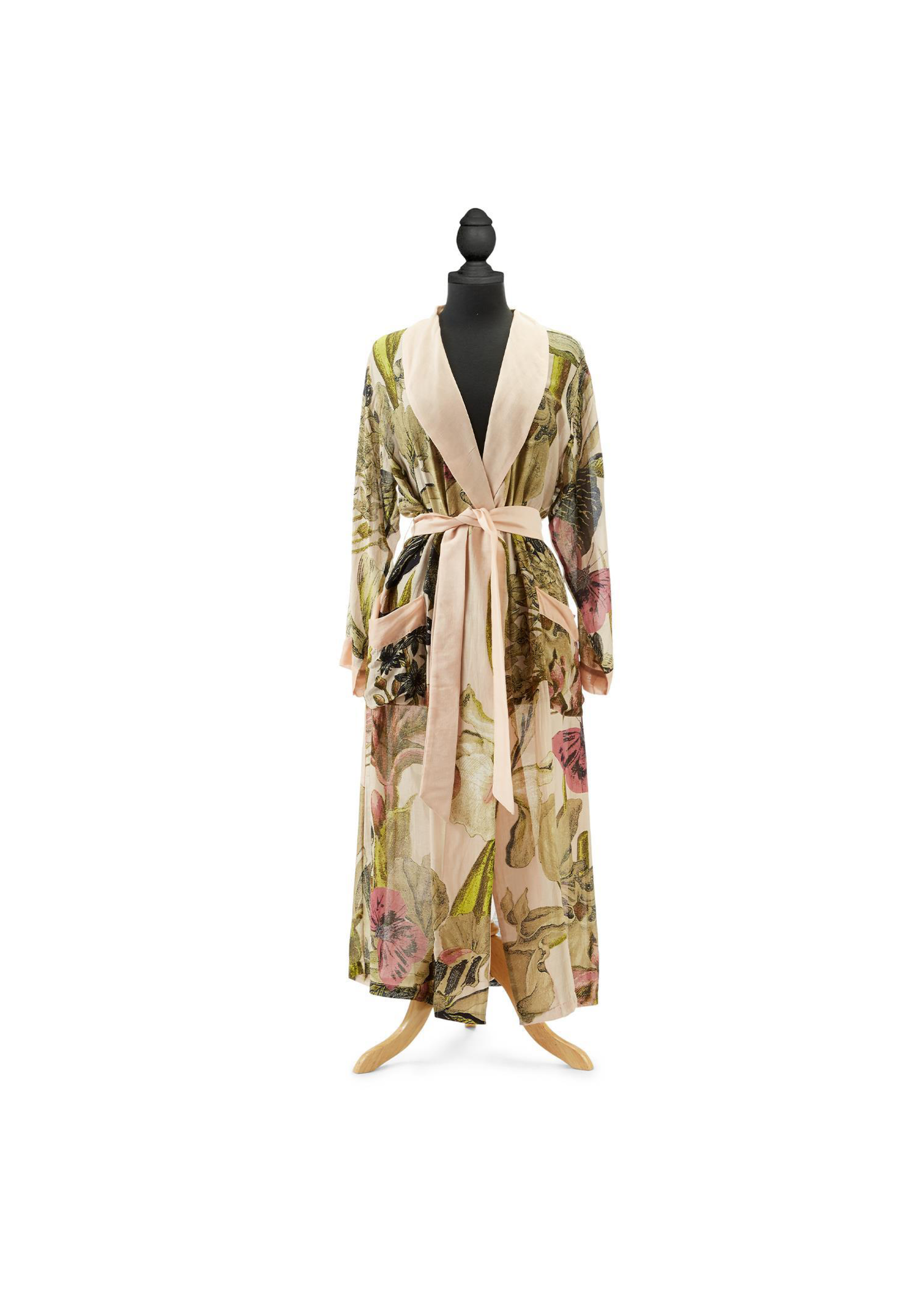 Two's Company, Inc. Blush Iris Robe Gown