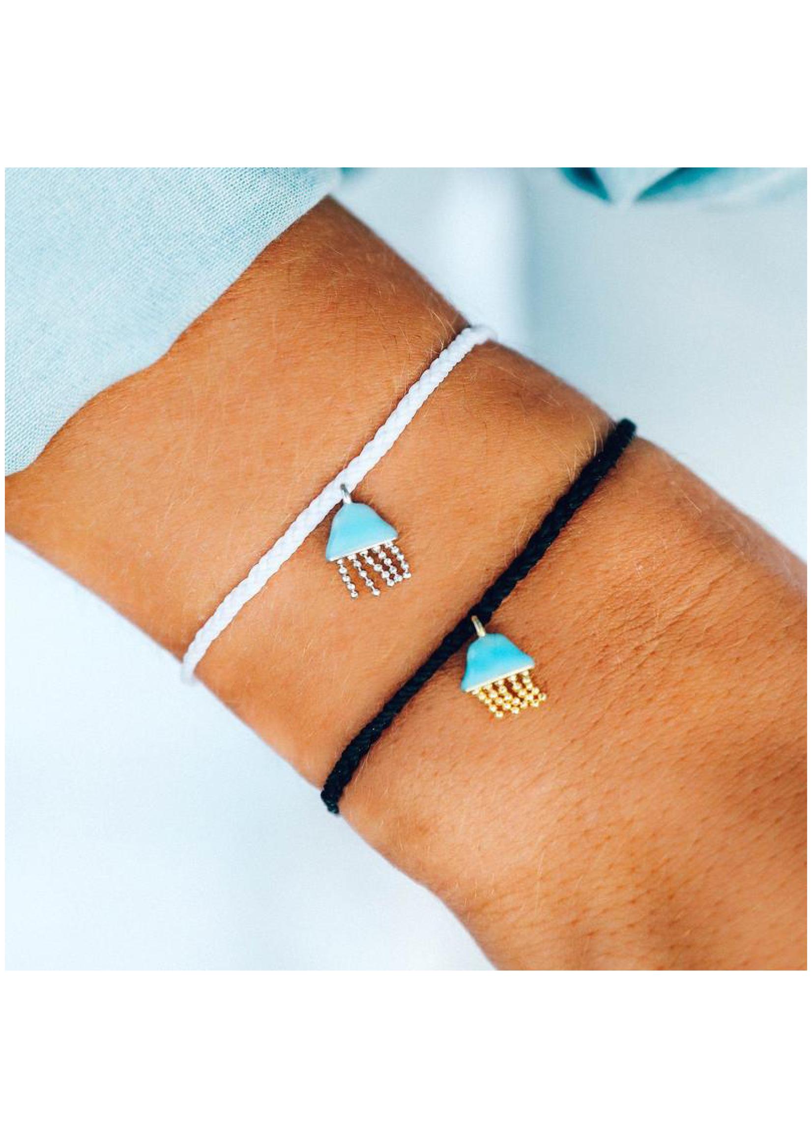 puravida bracelets Jellyfish Bracelet Black