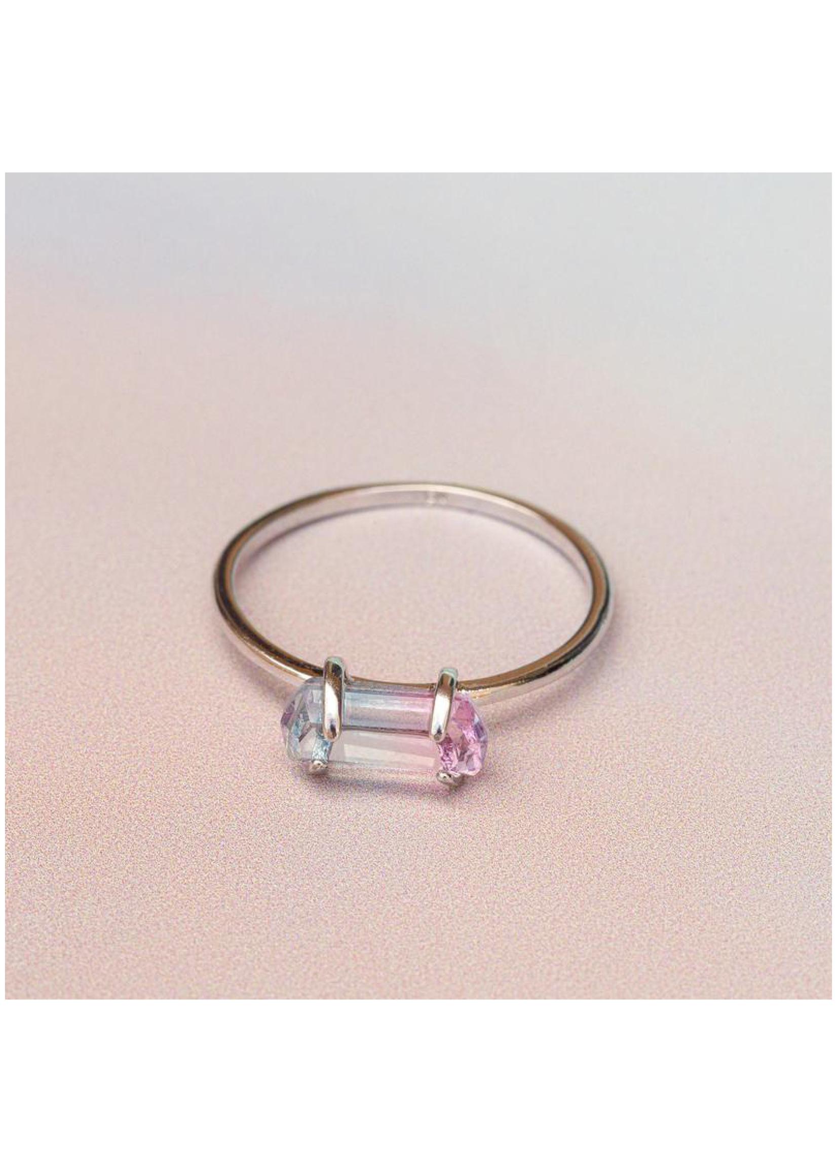 puravida bracelets Mermaid Quartz Ring Silver
