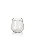Zodax Hammered Stemless A/P Glass