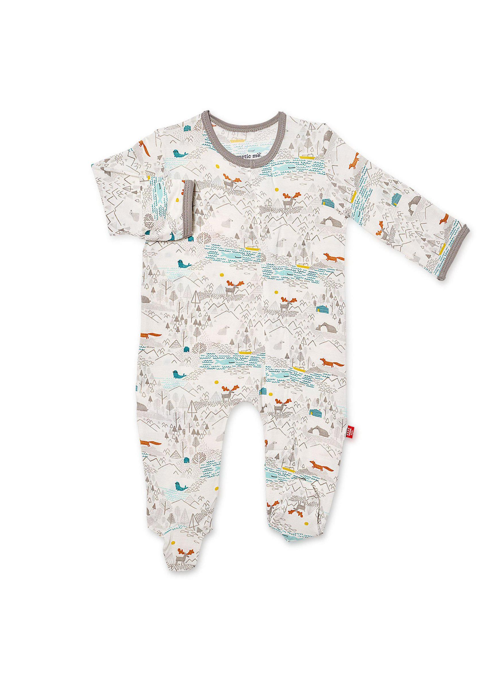 Magnificent Baby Modal Magnetic Footie