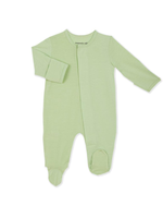 Magnificent Baby Pastel Green Solid Footie