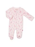 Magnificent Baby Pink Jolie Giraffe Organic Cotton