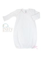 Paty LS Lap Shoulder Day Gown