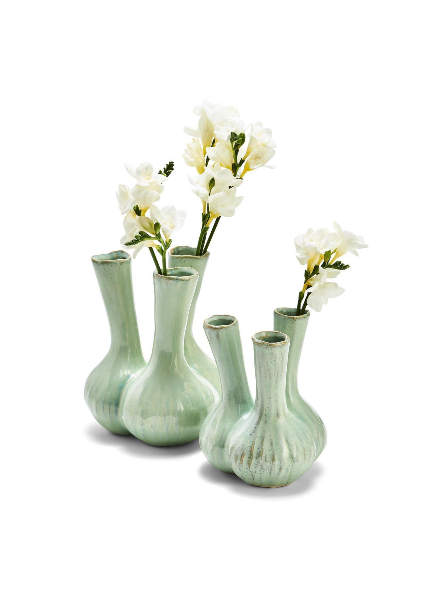 Two's Company, Inc. Celadon 3 Stem Vase Large