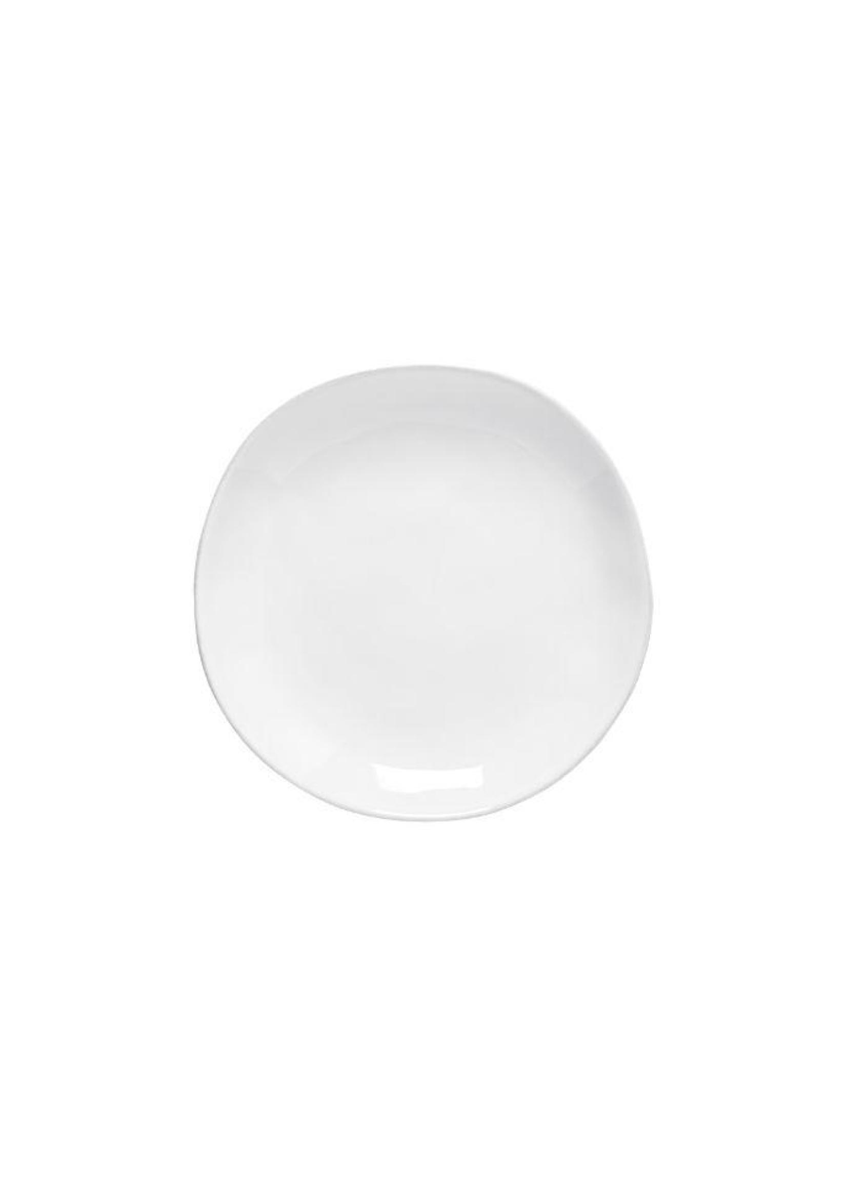 Casafina Livia White Salad/Dessert Plate