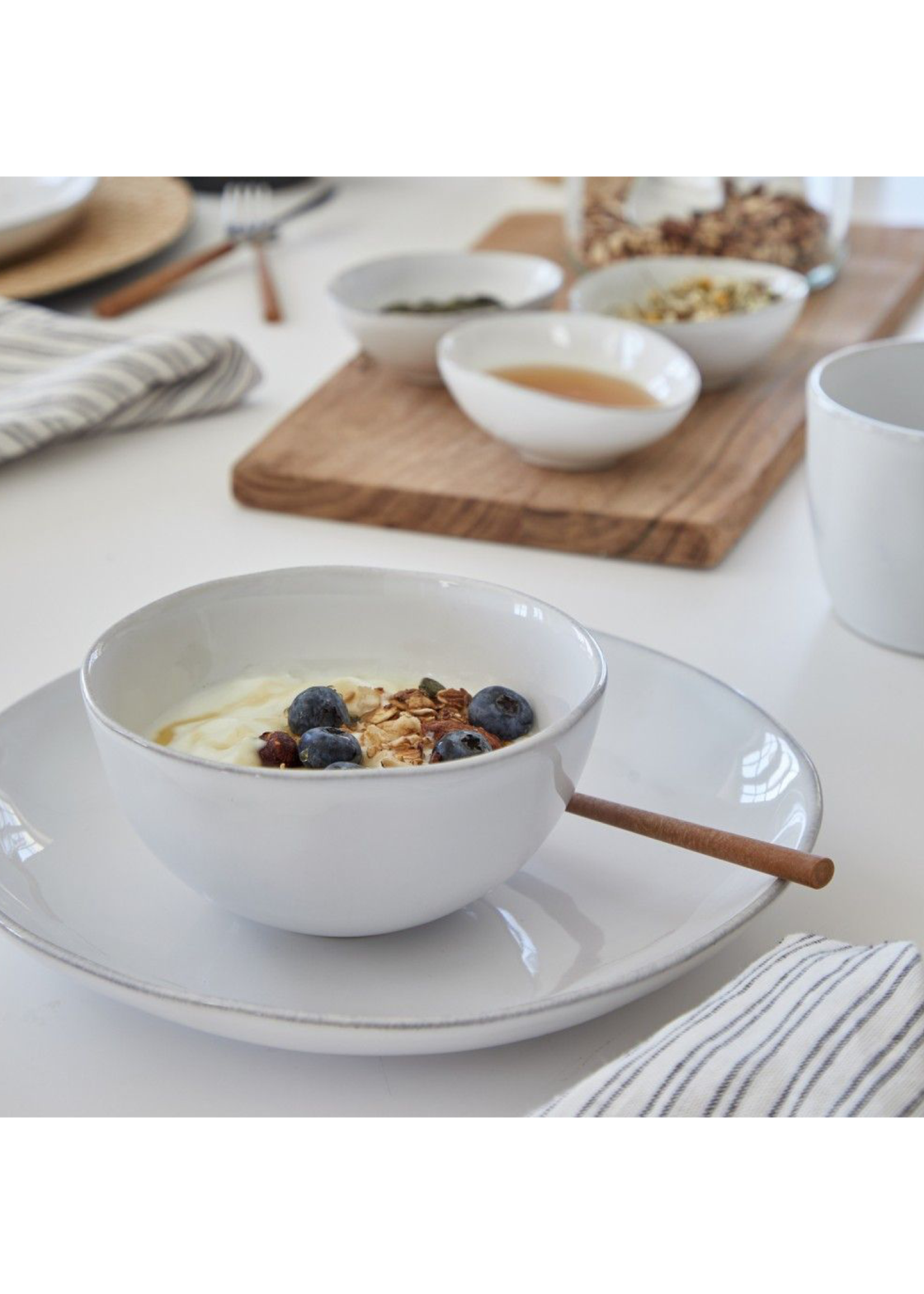 Casafina Livia White Soup/Cereal Bowl