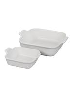 Le Creuset Heritage Set/2 Square Dishes, 18 oz and 2 qt