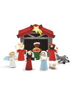 Two's Company, Inc. 9pc Felt Nativity Set
