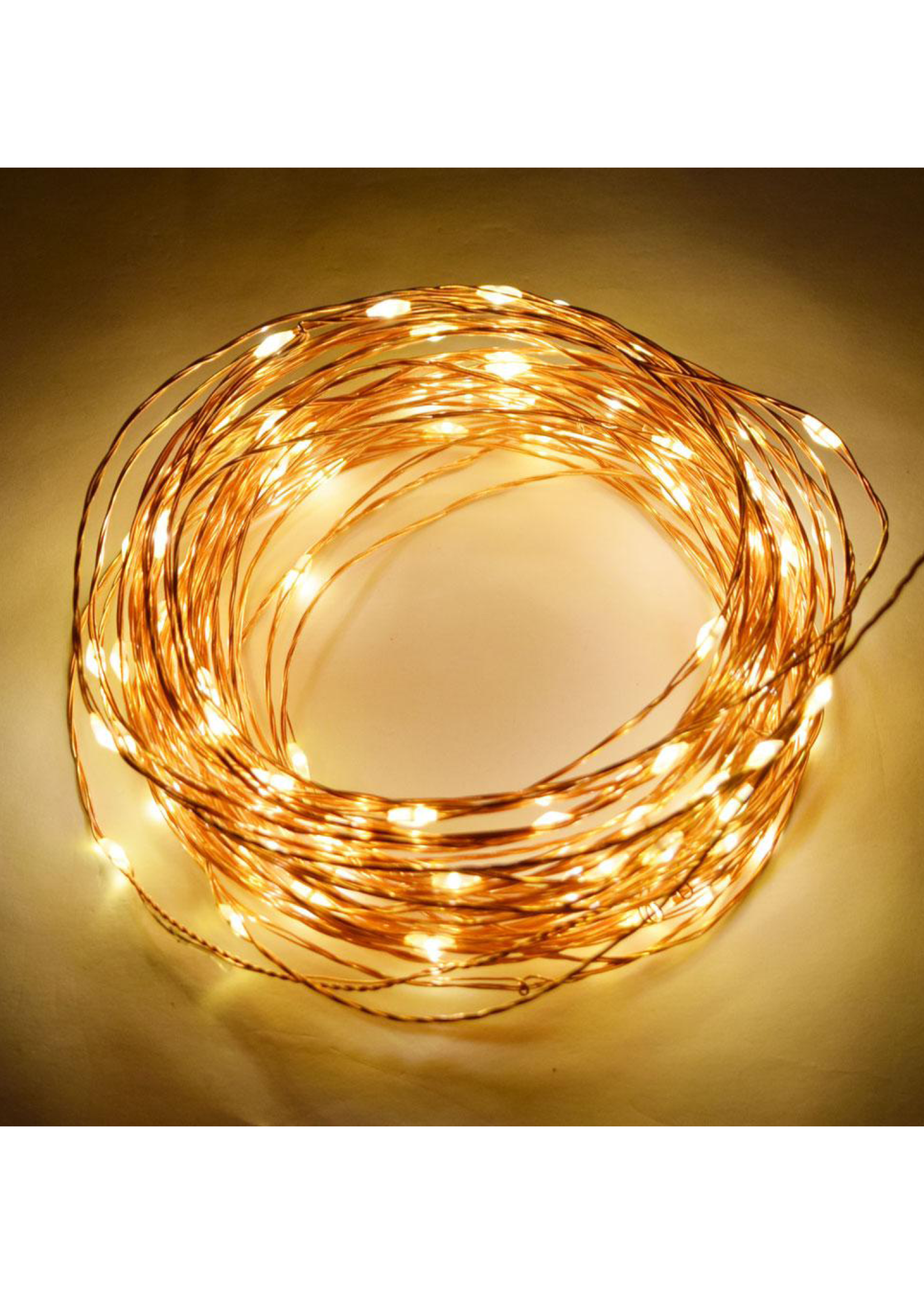 Holiday Bright Lights Micro Light, Copper/Warm White
