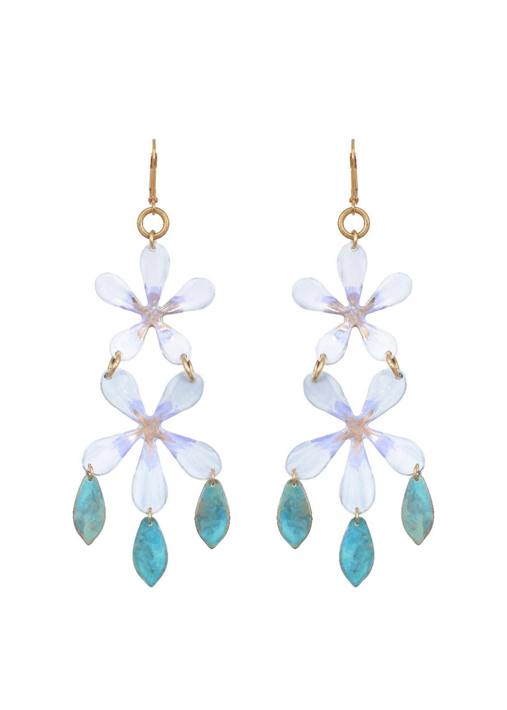We Dream In Colour Night Blossom Fringe Earring